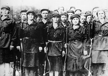 Women of the Red Army - Photo: Public Domain
