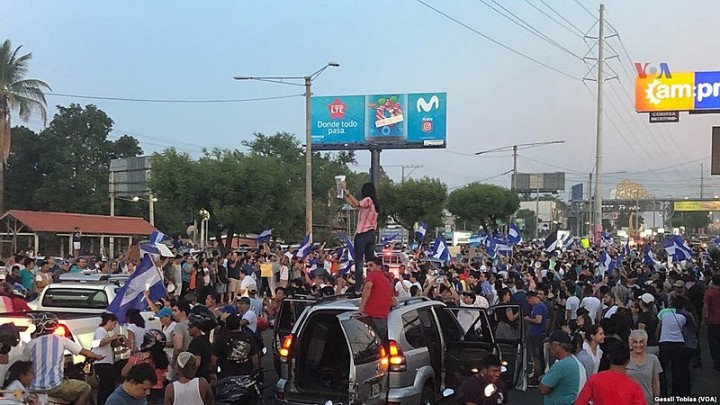 Protests in Nicaragua 2018 Image Voice of America