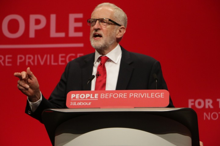 corbyn at conference Image Socialist Appeal