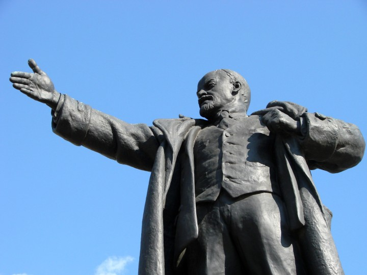 Lenin statue Image Adam Jones Flickr