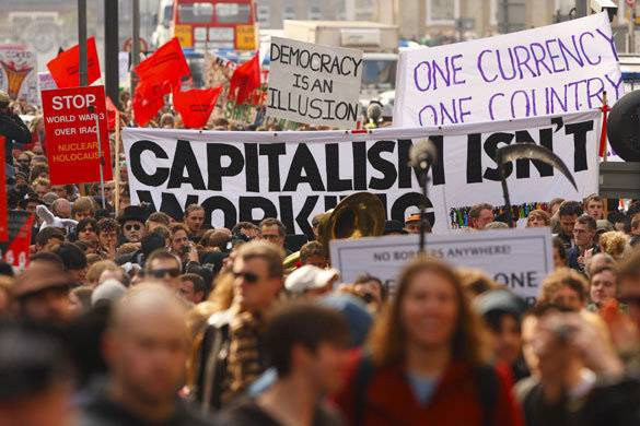 The Crisis of Capitalism and the tasks of the Marxists – Part One. Photo: Jeff Mcneill.