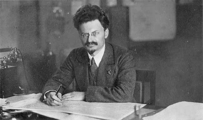 It was left to Trotsky to make a principled defence of Marxist Internationalism Image public domain