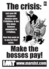 The Crisis: Make the bosses pay! - Manifesto of the International Marxist Tendency