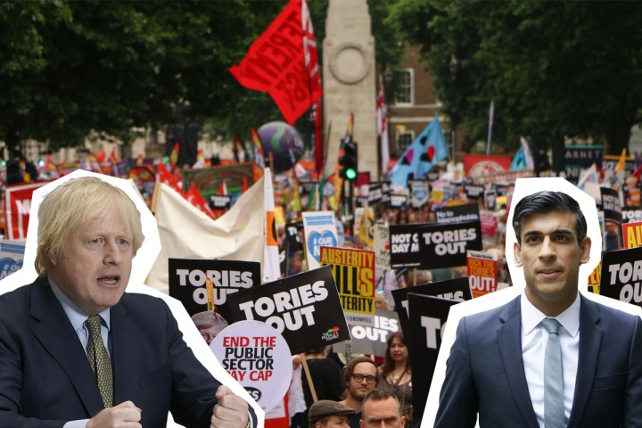 Boris Sunak Tories out Image Socialist Appeal