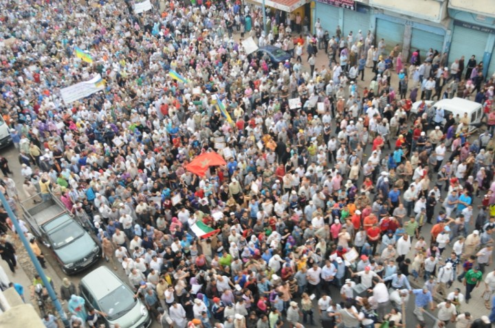 2011 Moroccan protests Image Magharebia