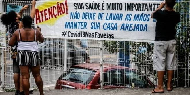coronavirus favelas image Disclosure Voice of Communities