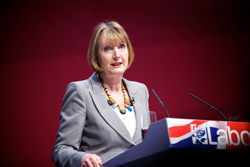 The former Deputy Leader of the Labour Party, Harriet Harman.