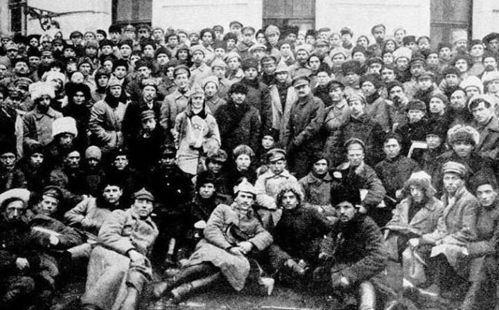 Lenin Trotsky Bolshevik Party Image public domain
