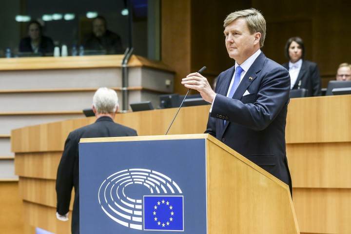 Dutch King Image European Parliament Flickr