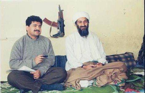 Hamid Mir interviewing Osama bin Laden, 1998