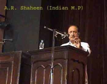 A.R. Shaheen (Indian MP)