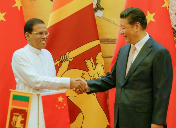 Sirisena China Image Flickr Maithripala Sirisena