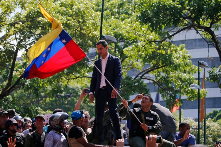 Guaido coup botched Image fair use