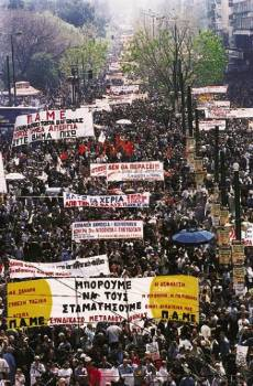 Greece: huge general strike