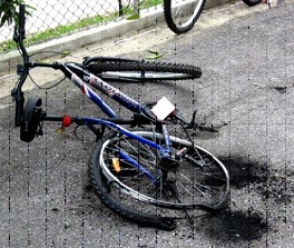The embattled Jerit cyclists continued to be besieged with more trouble, this time from unknown arsonists who torched their bicycles