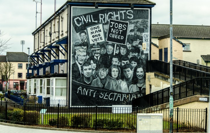Anti sectarian banner Image Flickr master phillip
