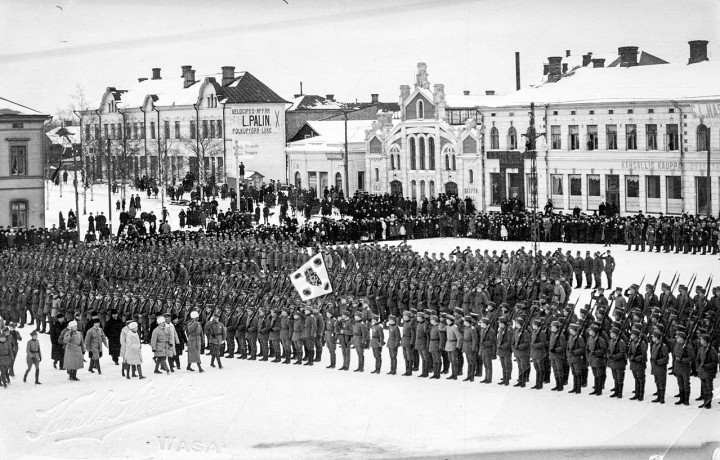 Jägers in 1918 Image public domain