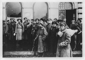 A Bolshevik requisitioning brigade Image public domain