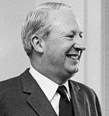 Edward Heath. Photo: Frank Hall / US Department of Defence.