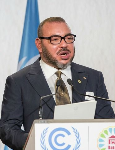 King Mohammed VI Image UN Climate Change