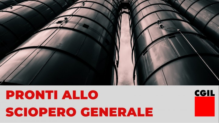 Italy general strike Image CGIL
