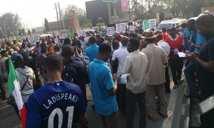 Nigeria minimum wage strike 3 Image CWYA