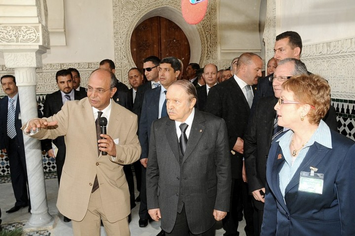 Bouteflika at Mechouar Tlemcen Image fair use