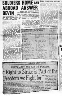 Eight Army News article reproduced in Socialist Appeal, May 1944