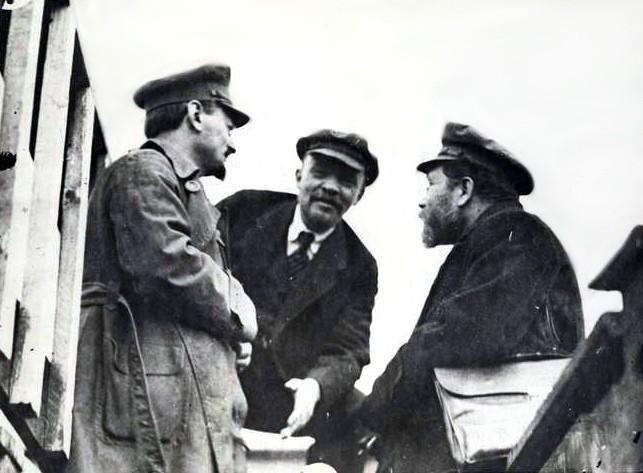 Lenin Trotsky and Kamenev in 1920 Image Recuerdos de Pandora