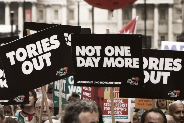 Not one day more Tories out Image Socialist Appeal