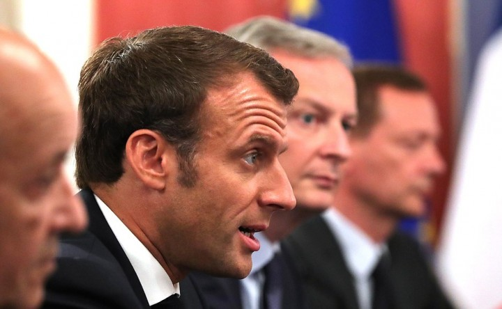Macron second lockdown Image PoR