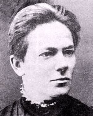 Clara Zetkin (on the picture) and Rosa Luxemburg argued for a general strike to achieve the right to vote for women and men but they were blocked by the reformists.