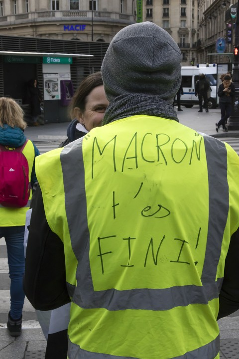 Yellow vests 8 Image Flickr Jacques BILLAUDEL