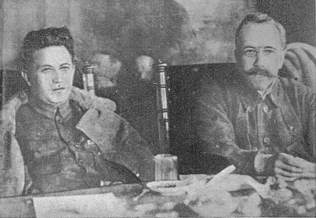 Zinoviev and Kamenev Image public domain