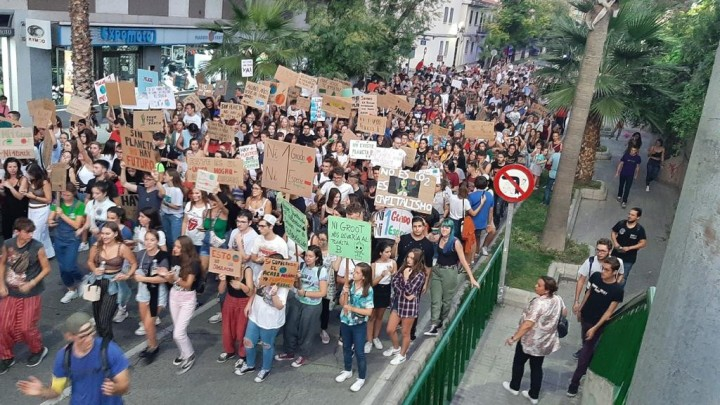 Jaén 27 Sept Climate Strike