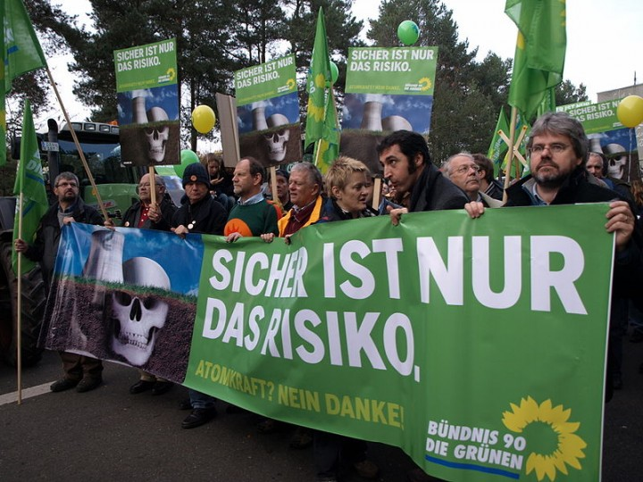 2008 Grüne protests against nuclear energy Image Paula Schramm
