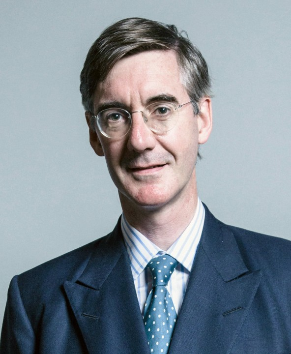 Official portrait of Mr Jacob Rees Mogg Image Chris McAndrew