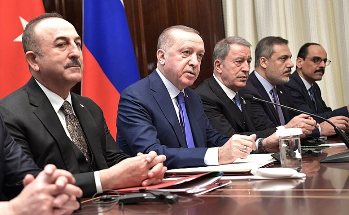 Recep Tayyip Erdogan Image Russian Presidential Executive Office