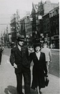 Ralph and Millie in Johannesburg, 1936