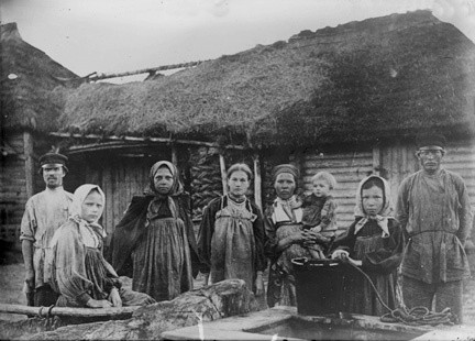 russian peasants Image public domain