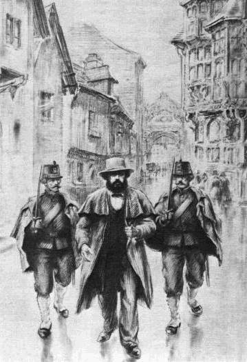 01 Karl Marx arreted in Brussels Image public domain