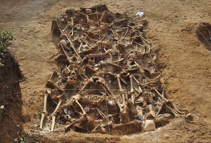 Spain Civil War mass grave Image Mario Modesto Mata