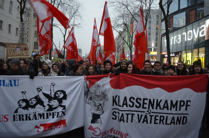 Der Funkes bloc attracted the youth Image own work