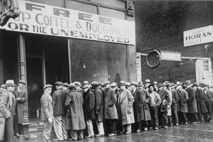 Great Depression Image public domain