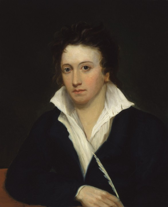 Percy Bysshe Shelley Image public domain