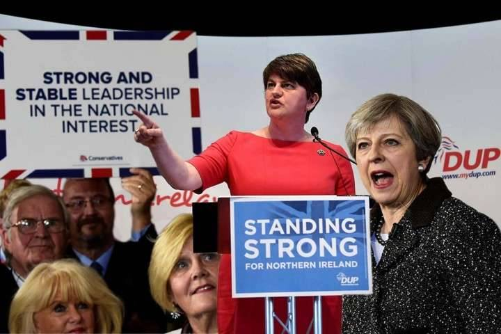 DUP and Theresa Mays conundrum Image own work