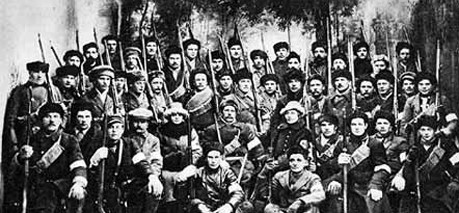 Russian civil war 1918 1920 white army Image public domain