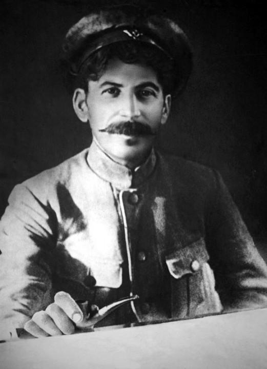 Joseph Stalin in 1918 Image fair use