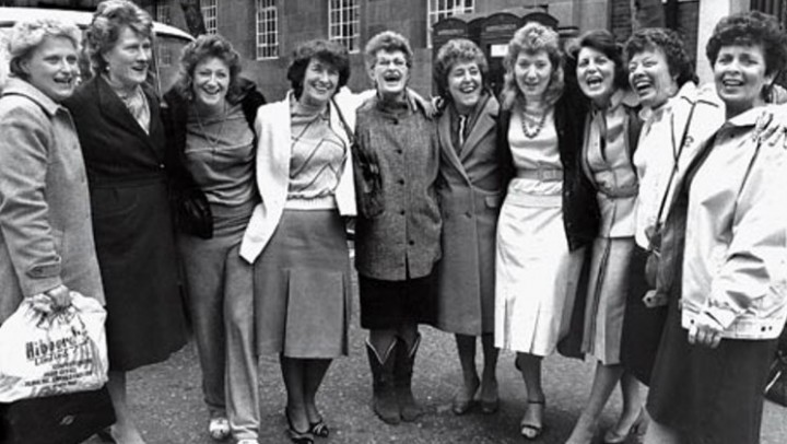 Dagenham women workers