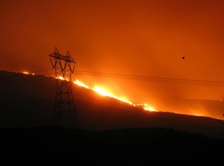 Wildfire USA Image Tim Williams Flickr